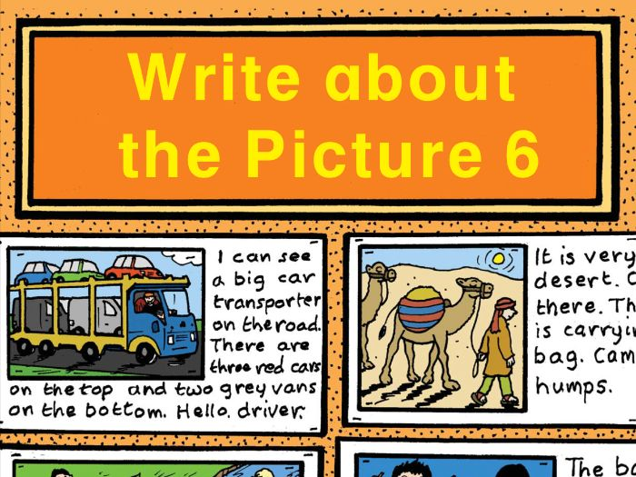 WRITE ABOUT THE PICTURE BOOK 6