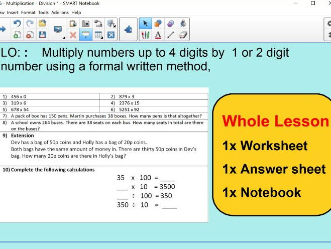 Be the teacher! Correct multiplication errors! by mrsbradley ...
