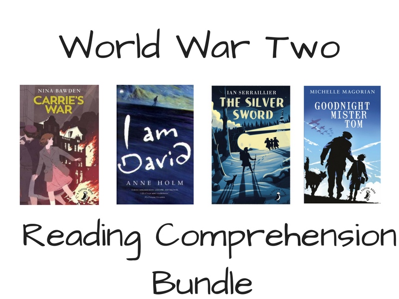 World War Two Reading Comprehension Bundle
