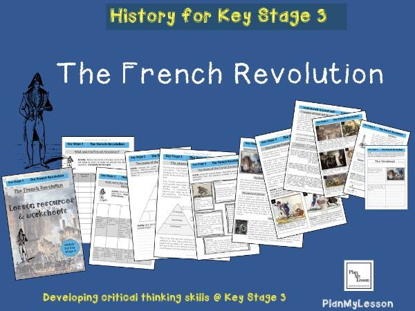 The French Revolution teaching booklet and lesson resources