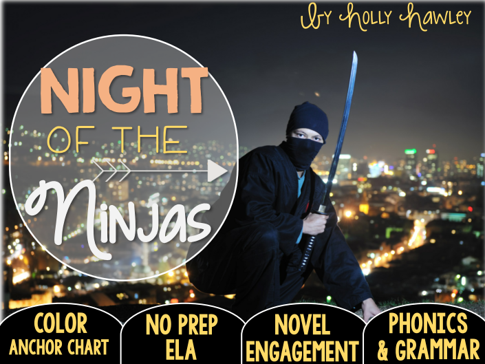 Night of the Ninjas NO PREP ELA