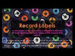 BTEC Music: Record Labels