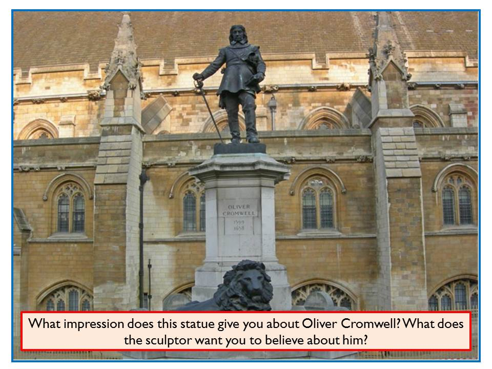 How should Oliver Cromwell be remembered? A two-lesson interpretations enquiry for KS3