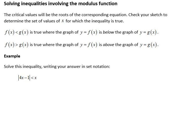 Edexcel New Linear Maths A Level Year 2 Topic 2: Functions and graphs