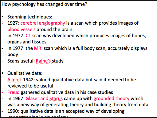 EDEXCEL A-Level Psychology UK - Issues and Debates