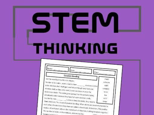 Covalent Bonding Chemistry Homework Review Worksheet