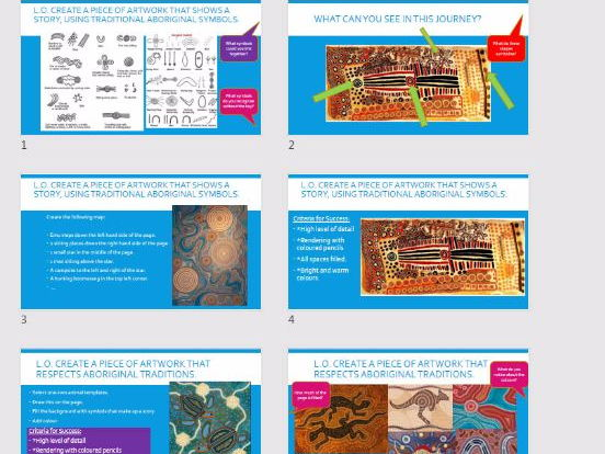 Aboriginal Art Presentation and Resources