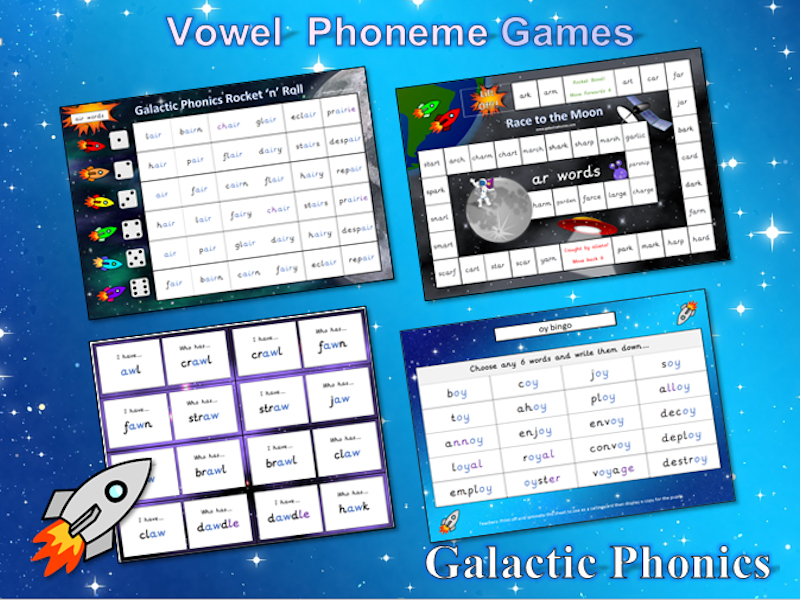 The BIG Book of Vowel Phoneme Games