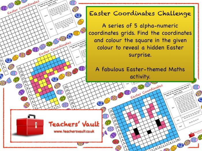 Easter Coordinates Challenge