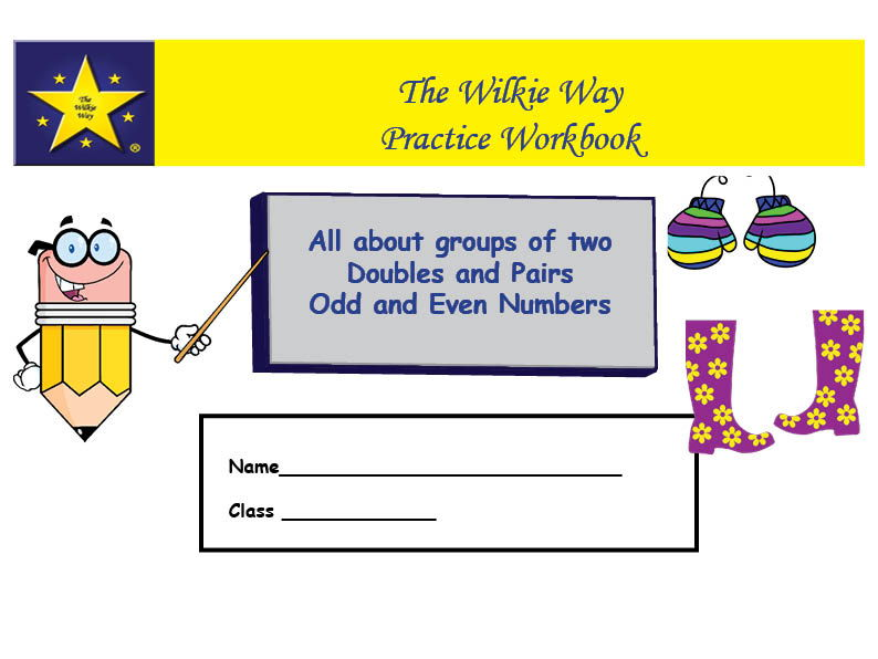 Practice Workbook: Groups of 2, Doubles, Pairs, Odds & Even