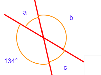 Name, calculate and measure opposite angles (differentiated) with answers