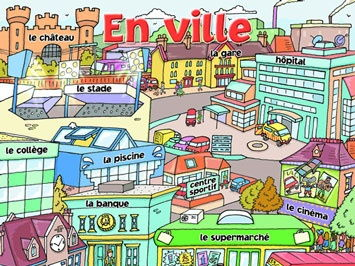 French En Ville Half-Term Planning and Resources