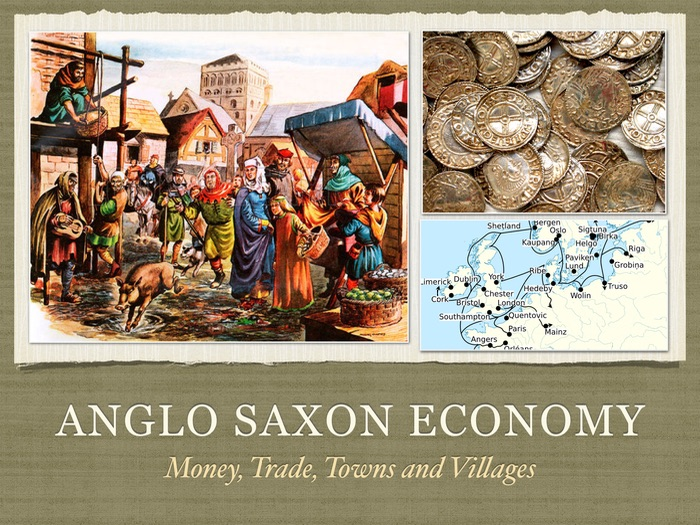 gcse history anglo saxon economy by lukaszlucky