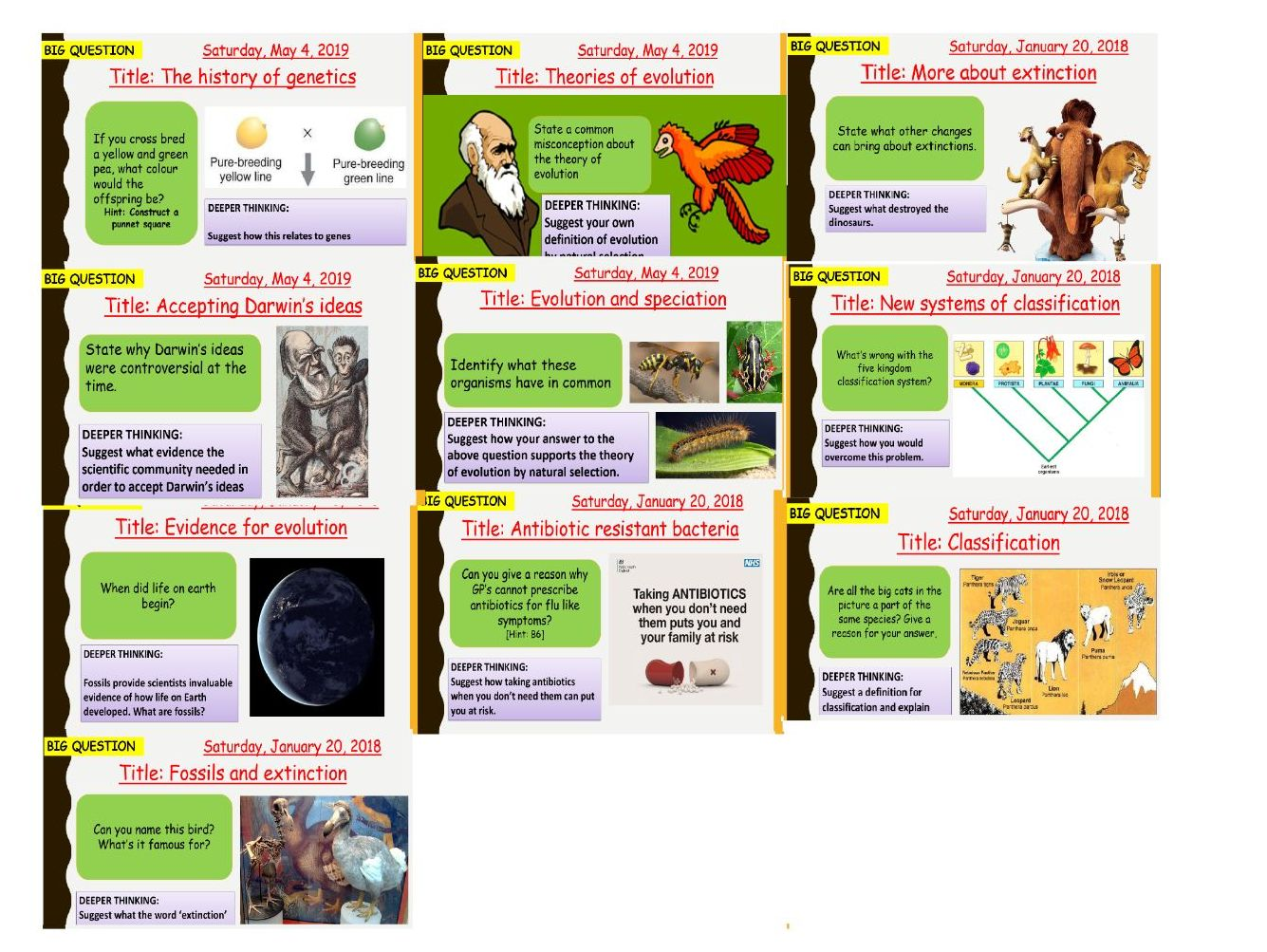 AQA new specification-B15 Genetics and evolution-Separate science bundle