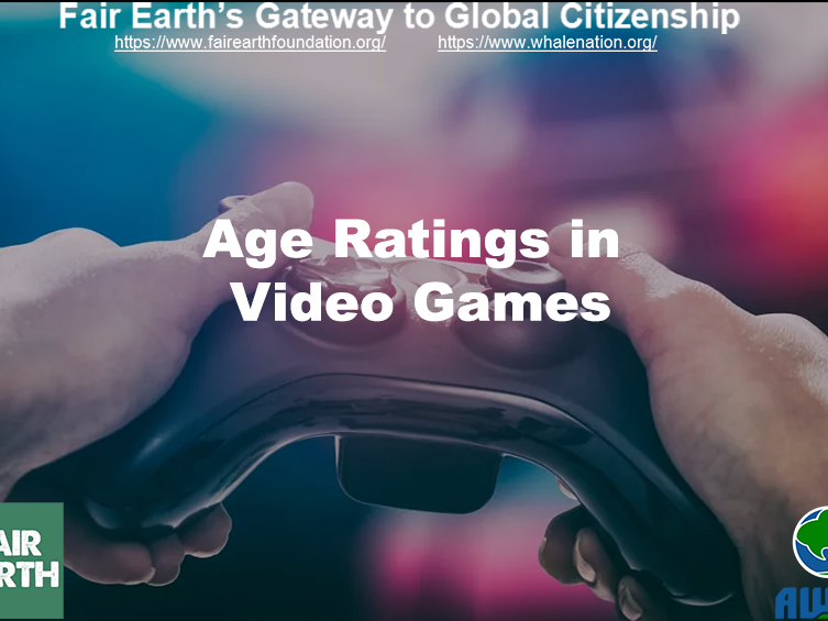 Age Ratings in Games - Fair Earth Resources