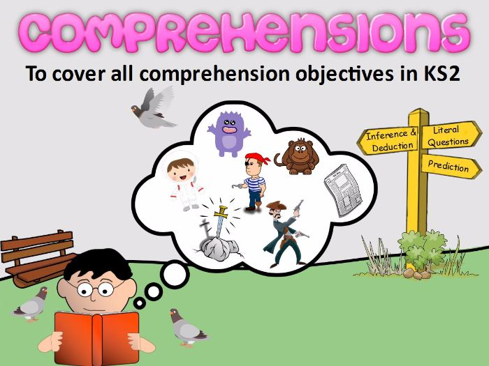 KS2 Comprehensions (Fiction Pack)