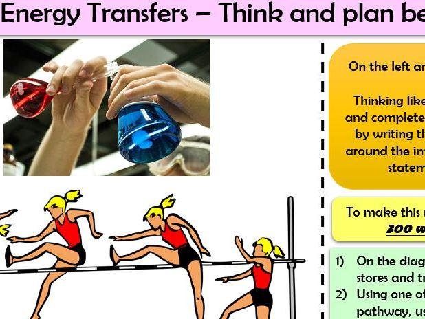 AQA PHYSICS Trilogy P1 Quick Formative Assessments or Homework tasks