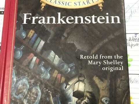 Frankenstein Difficult MC from Classic Starts Books