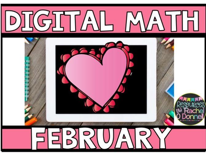 DIGITAL MATHS FEBRUARY VALENTINES