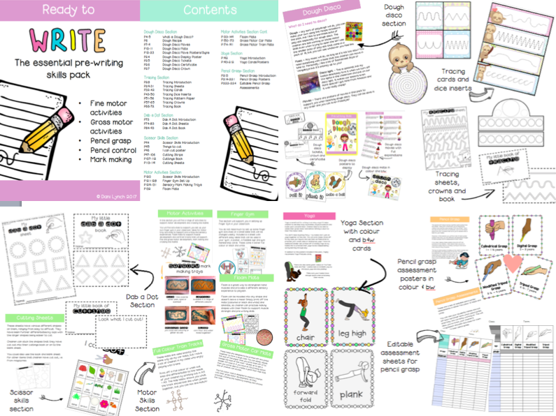 Ready To Write Ultimate Pre-Writing Skills Pack