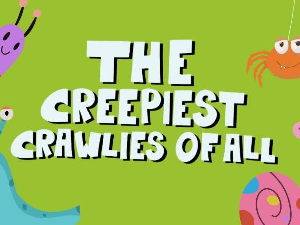 Music Video  for preschool children - The Creepiest Crawlies of All