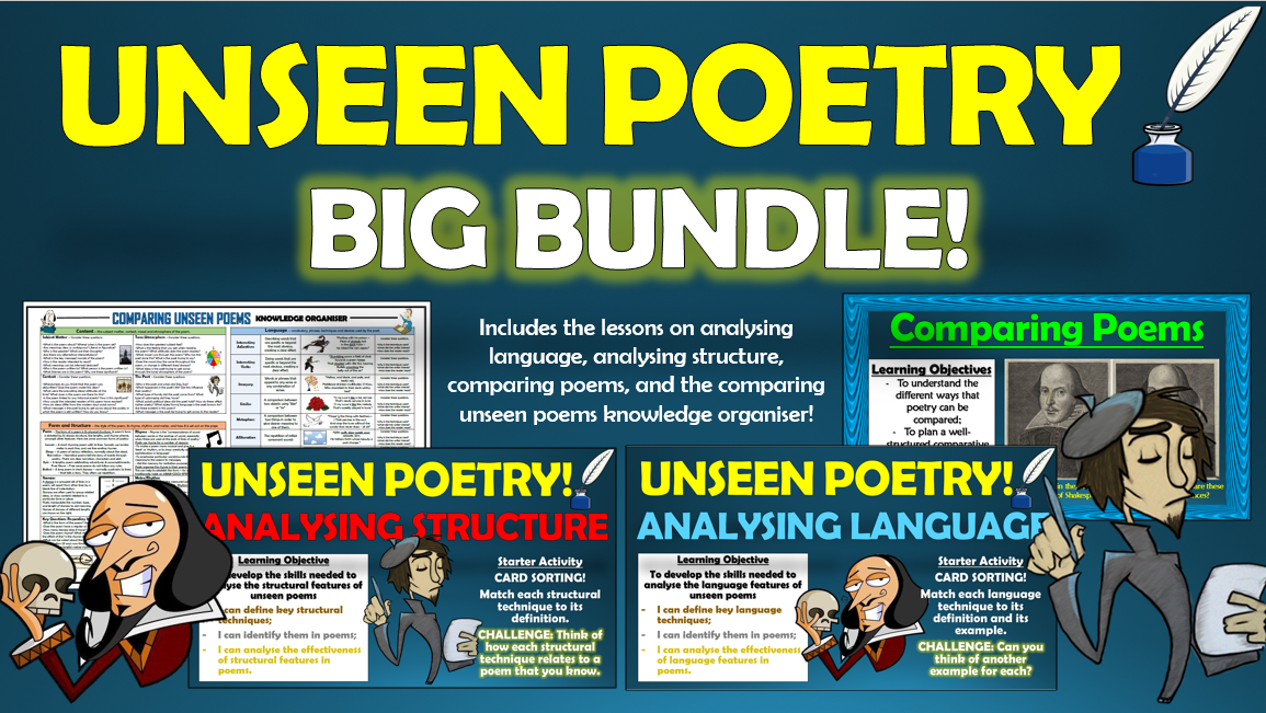 Unseen Poetry Big Bundle!