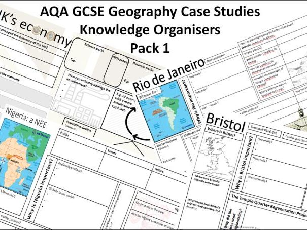 AQA GCSE Geography Knowledge Organisers