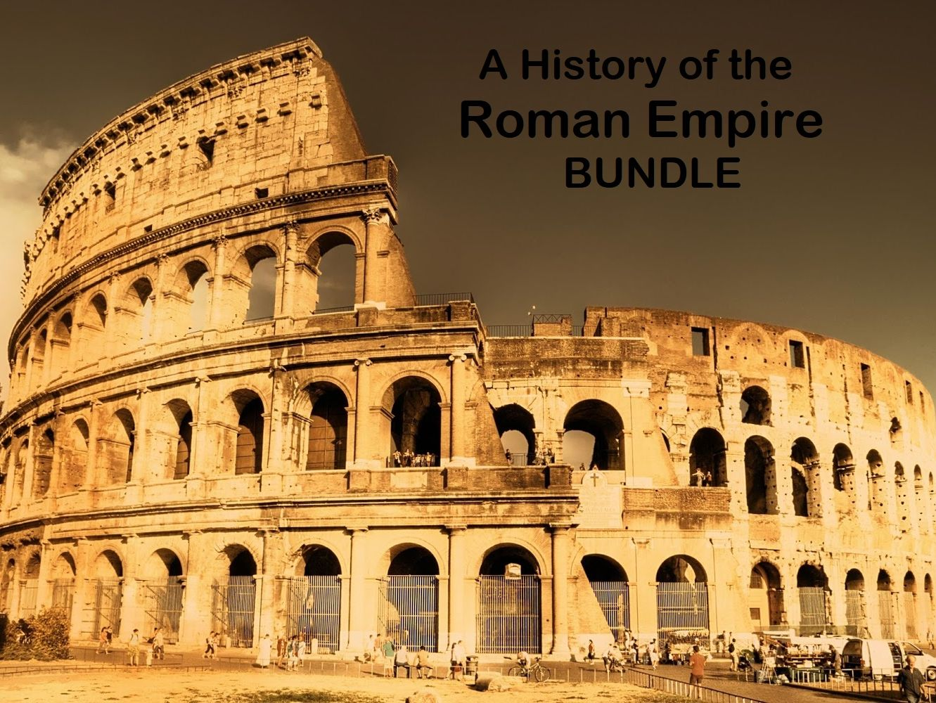 Roman Empire History -  Reading Comprehension Worksheets - Texts (SAVE 50%)