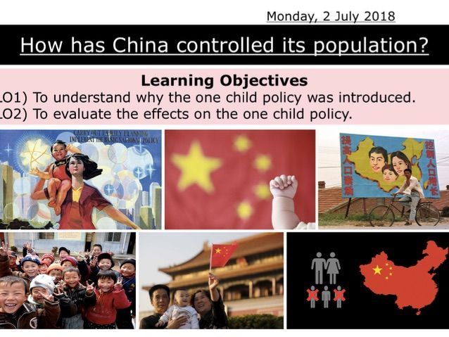 China - One Child Policy