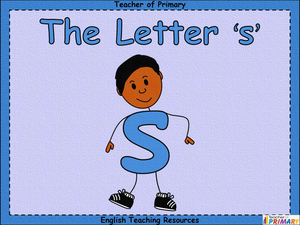 The Letter 's'