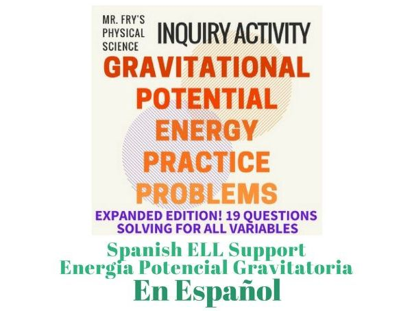 Gravitational Potential Energy (Spanish Version) Energía Potencial Gravitatoria