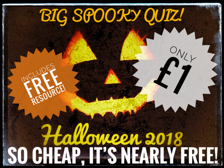Halloween, Halloween Quiz + Free Resource!