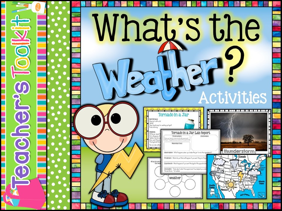 What's The Weather Part 2: Activities