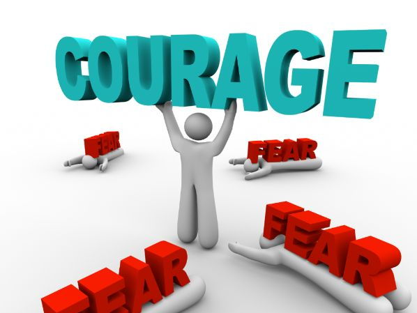Courage Is Like A Muscle (Podcast)