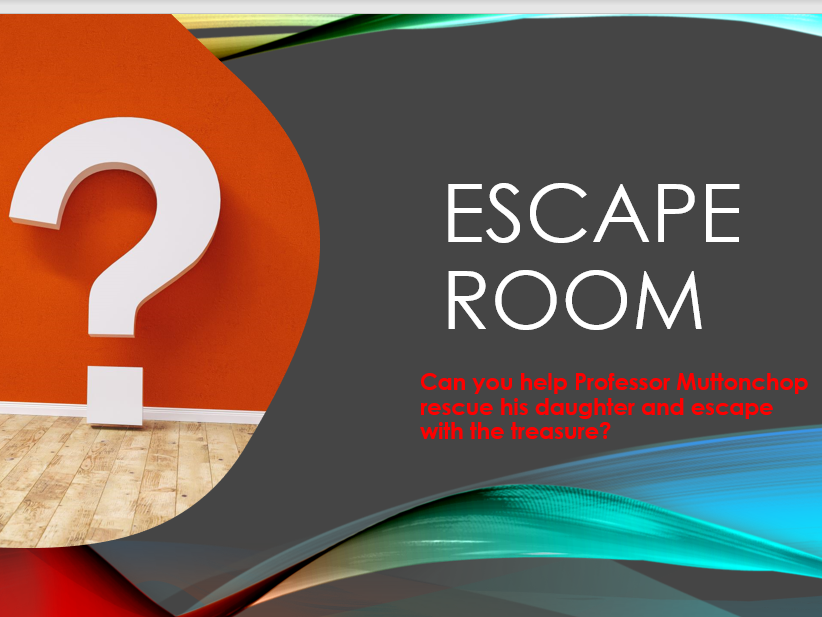 ESCAPE ROOM MYSTERY GRAMMAR AND SPELLING PRACTICE