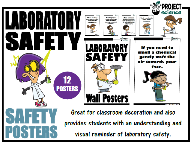 Laboratory Safety Posters