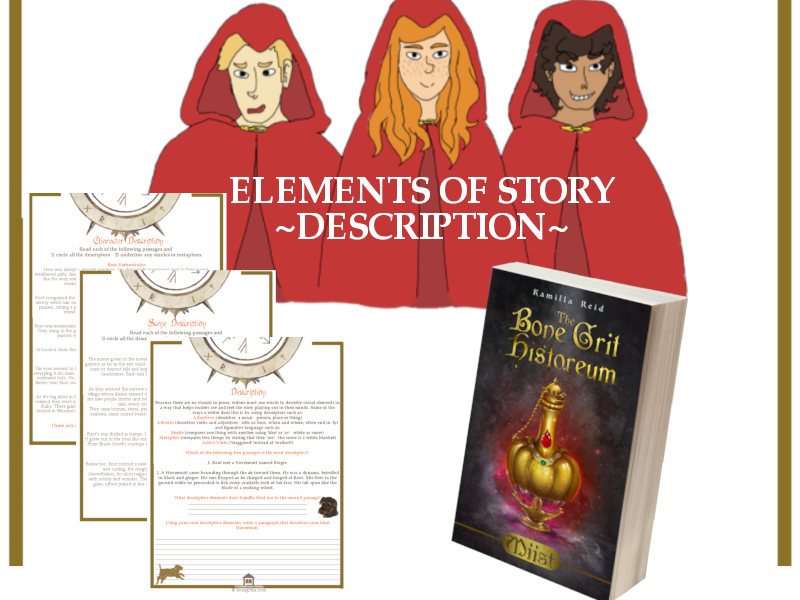 Elements of Story - Description for use with Miist by Kamilla Reid