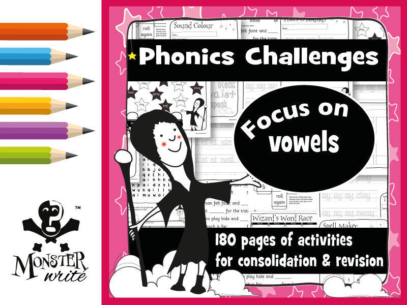 Phonics Revision Activities: Vowel Sounds