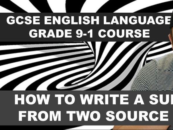GCSE English Language Grade 9-1 Course: Synthesis and Summary