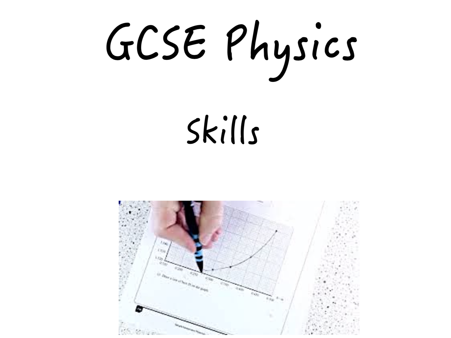 Physics Skills and How Science Works Topic