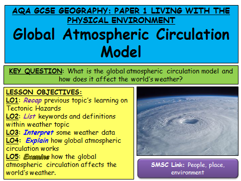 AQA Geography Weather Hazards FULL SERIES OF LESSONS AND RESOURCES