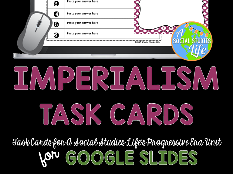 Imperialism Task Cards GOOGLE DRIVE