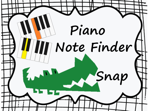 Piano Note Finder Snap