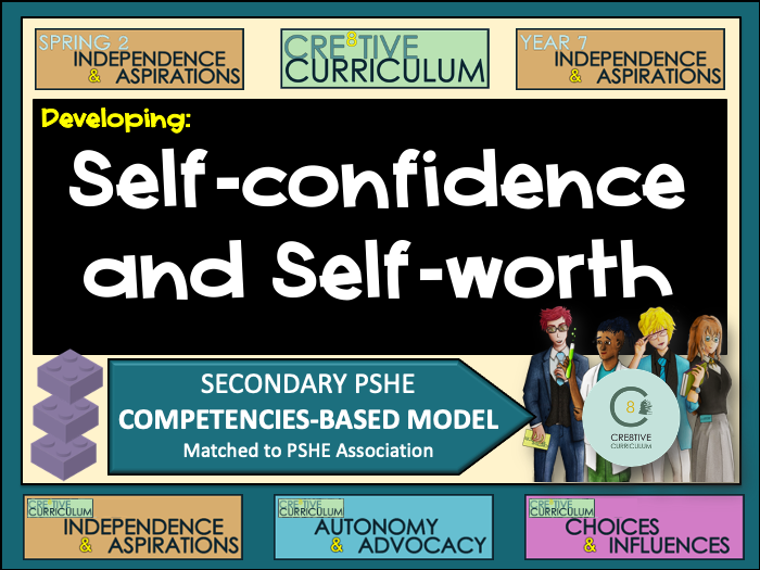 Developing self-confidence and self- worth PSHE Builder