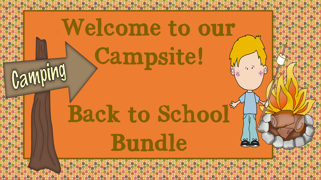 Back to School Classroom pack - Great Outdoors Theme