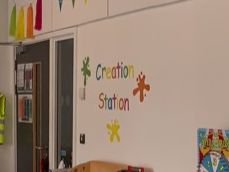 Creation Station Display