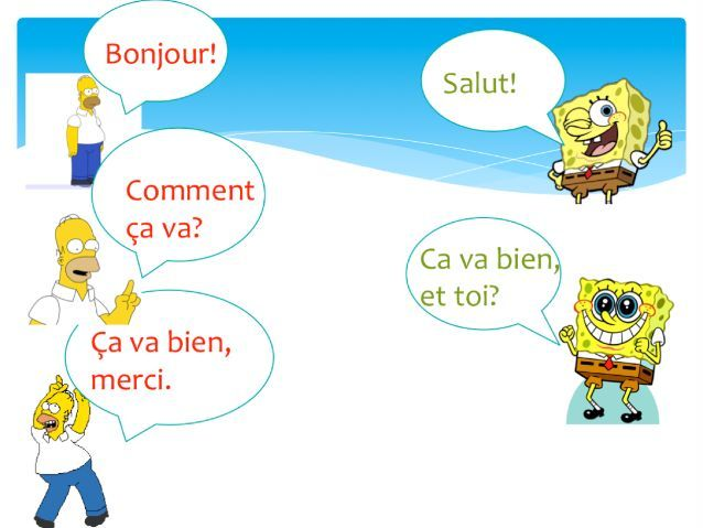 French Conversation: All About Me