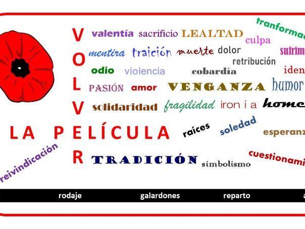 Volver - Amodovar - Vocabulario - Spanish Films A Level