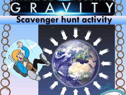 Gravity Scavenger Hunt
