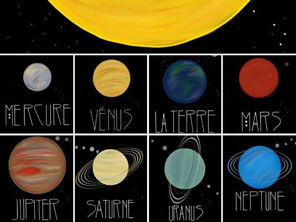 Notre Système Solaire : Our Solar System